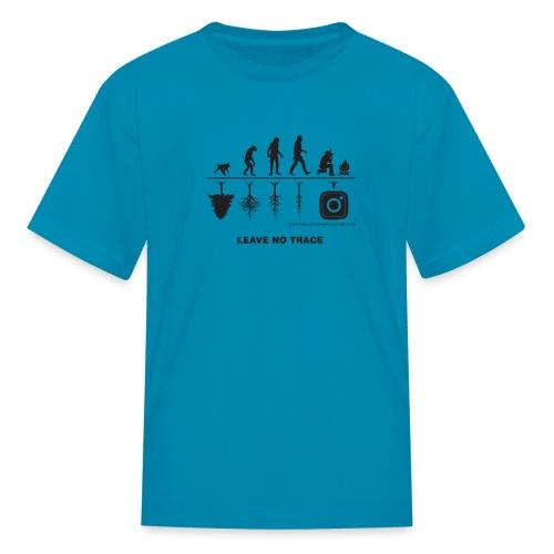 IG De-Evolution Black - Kids' T-Shirt