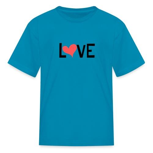 LOVE heart - Kids' T-Shirt