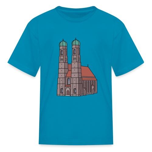 Munich Frauenkirche - Kids' T-Shirt