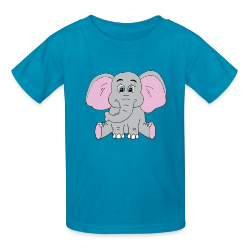 Cute Baby Elephant - Kids' T-Shirt