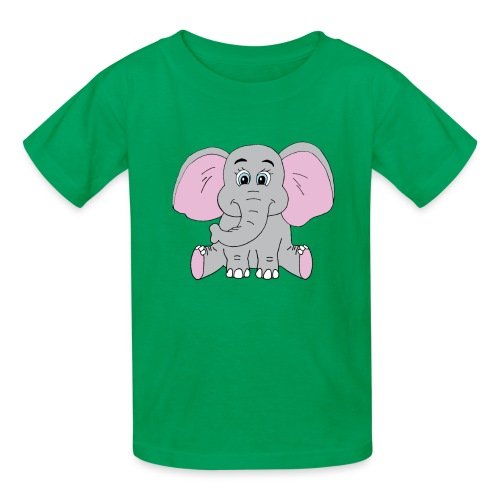 Cute Baby Elephant - Kids' T-Shirt