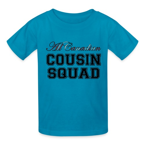 All Canadian Cousin Squad - Vector - Kids' T-Shirt