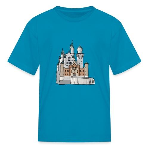 Neuschwanstein Castle, Bavaria - Kids' T-Shirt