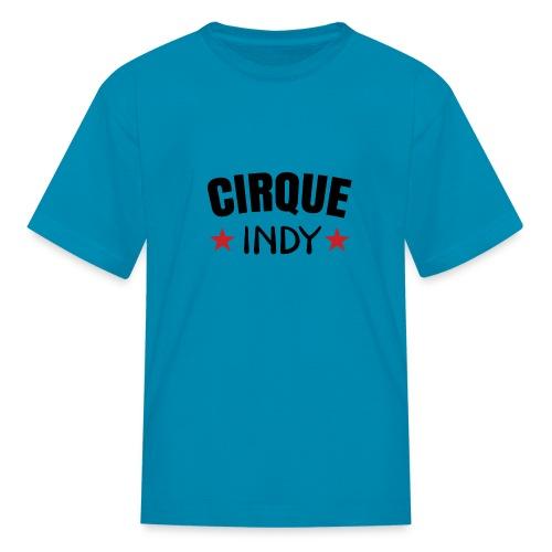 Cirque Indy - Red Stars - Kids' T-Shirt