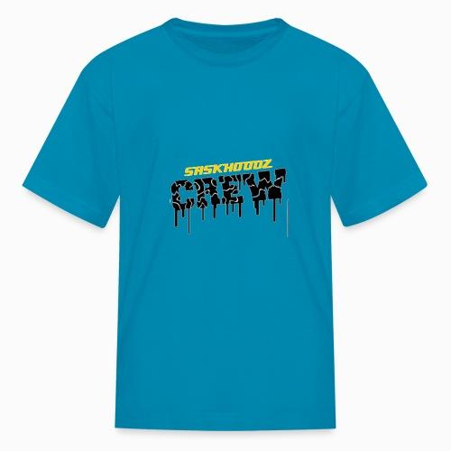 saskhoodz crew - Kids' T-Shirt