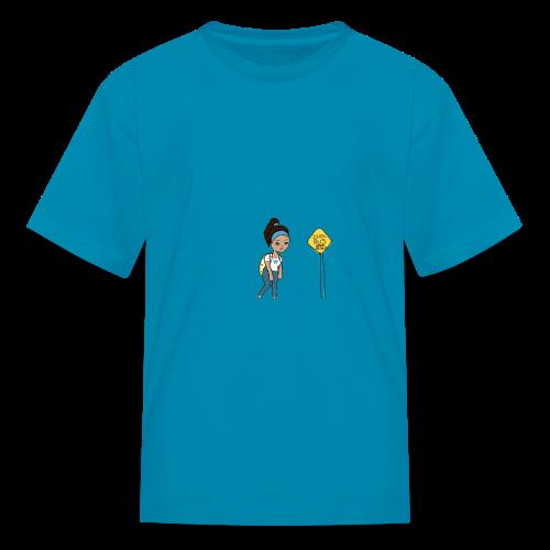 Monday's be like... - Kids' T-Shirt
