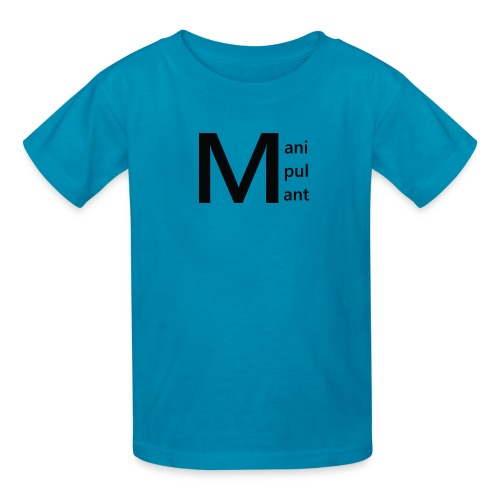 Manipulant Logo - Kids' T-Shirt