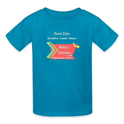 Mimi's Kitchen! Homemade with Love. - Kids' T-Shirt