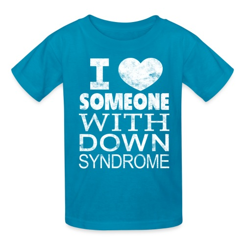I ♥ Someone with Down syndrome - Kids' T-Shirt