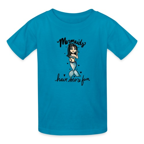 Mermaids have more fun - Kids' T-Shirt