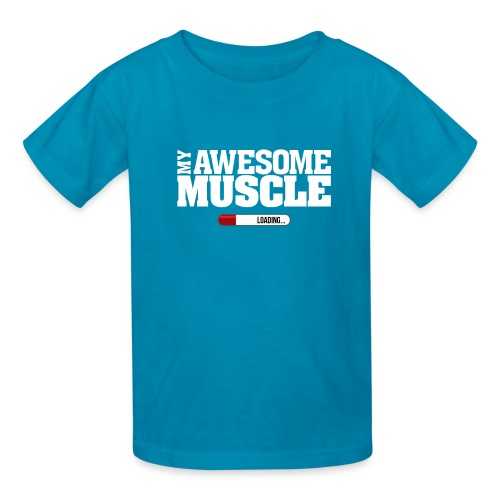 My Awesome Muscle - Kids' T-Shirt