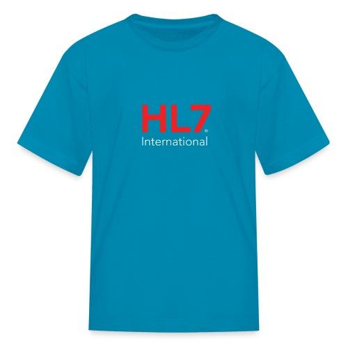 HL7 International Logo - Reverse - Kids' T-Shirt