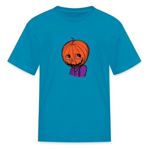 Pumpkin Head Halloween - Kids' T-Shirt