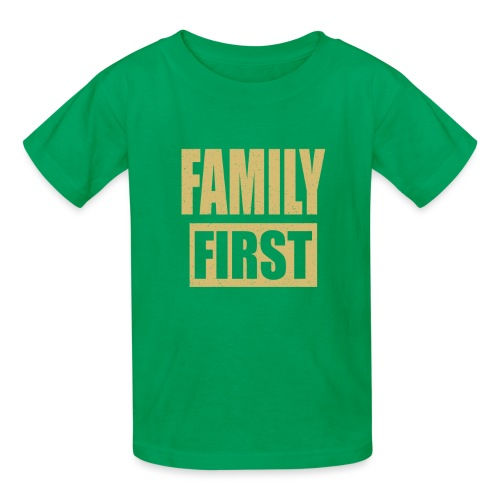 Family First - Kids' T-Shirt