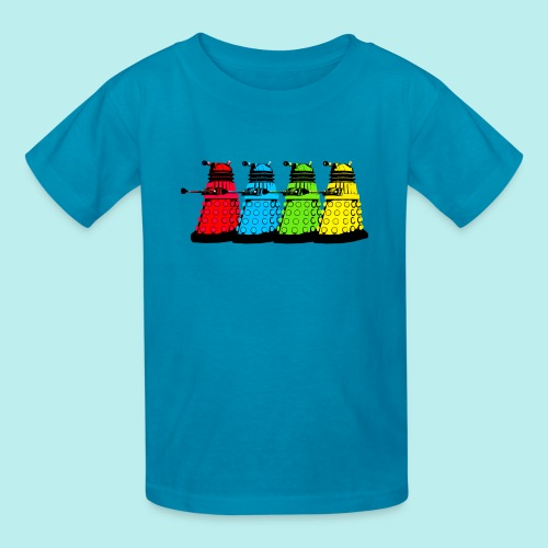 Dalek Four Colours - Kids' T-Shirt