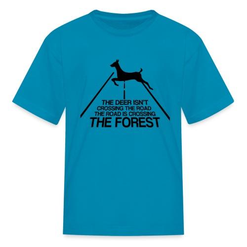 Deer's forest - Kids' T-Shirt