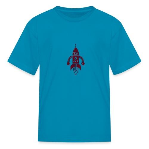 Rocket Robot - Kids' T-Shirt