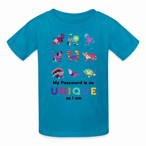 Make your Password as Unique as you are! - Kids' T-Shirt