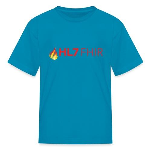 HL7 FHIR Logo - Kids' T-Shirt