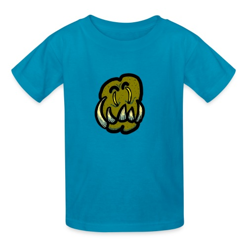 Tusked Green-Skin - Kids' T-Shirt
