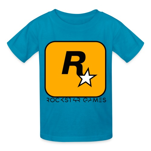 Custom Rockstar Logo - Kids' T-Shirt