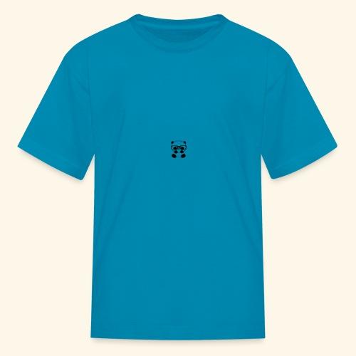 Glass wearing panda - Kids' T-Shirt