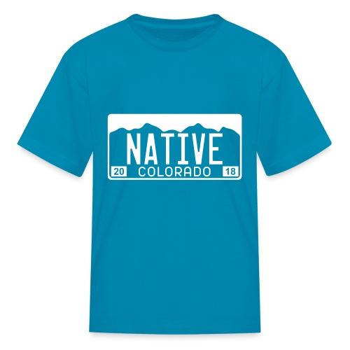 Colorado Native 2018 - Kids' T-Shirt