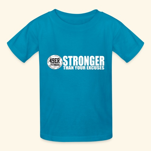 strongerblack - Kids' T-Shirt