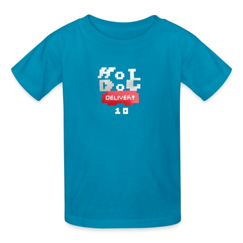 Hot Dog Delivery 10 Merch - Kids' T-Shirt