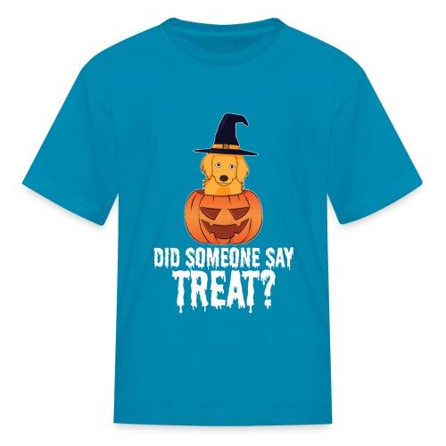 Golden Retriever Halloween Costume Funny Dog Shirt - Kids' T-Shirt
