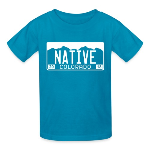 Colorado Native 2018 - Kids' T-Shirt
