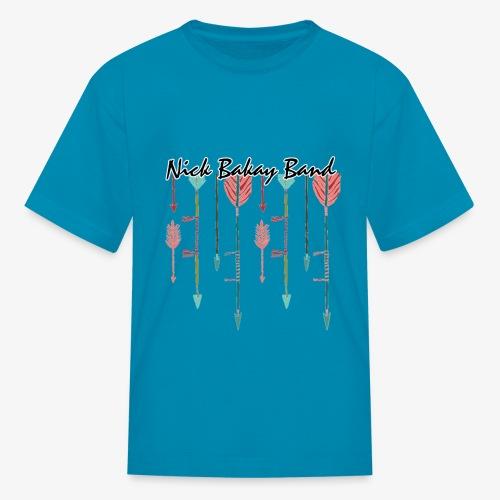 Arrow Band Name Design - Kids' T-Shirt