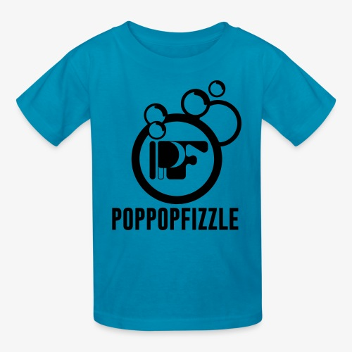 PPF Logo (black) - Kids' T-Shirt