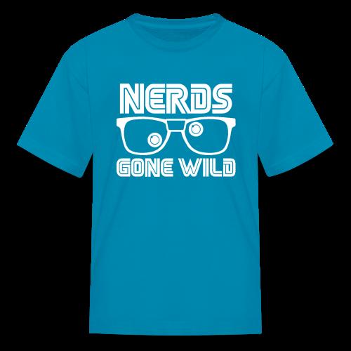 NERDS White Logo - Kids' T-Shirt
