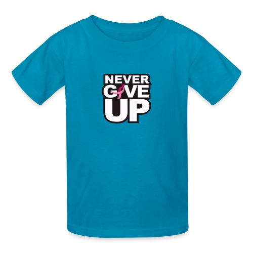 Never Give Up Tee - Kids' T-Shirt