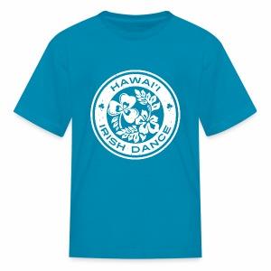 Hawaii Irish Dance Logo Distressed - Kids' T-Shirt