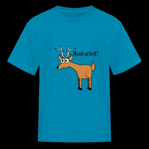 Hoof-arted? - Kids' T-Shirt