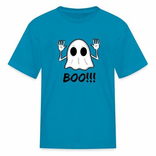 BOO!!! Halloween Design - Kids' T-Shirt