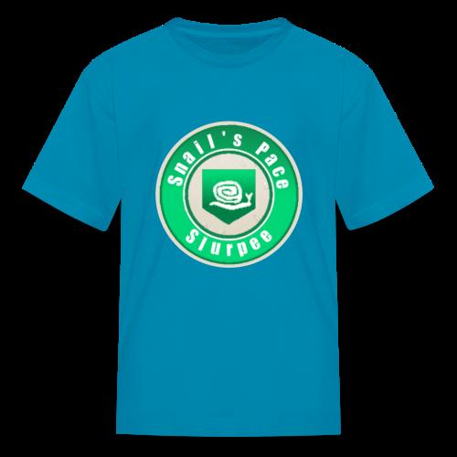 Snails Pace Slurpee - Kids' T-Shirt