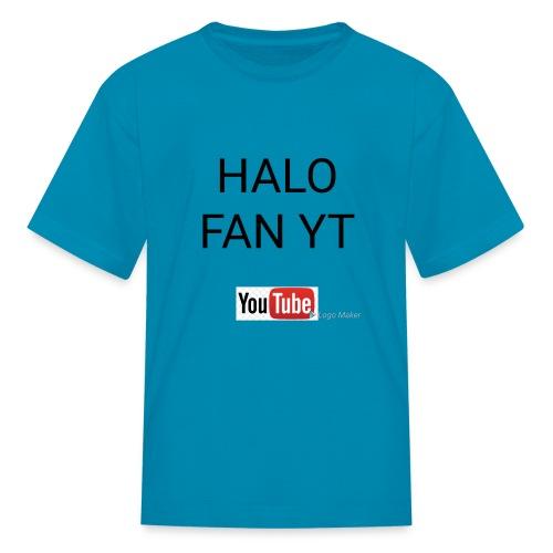 Halo fan and fnaf YouTube channel merch - Kids' T-Shirt