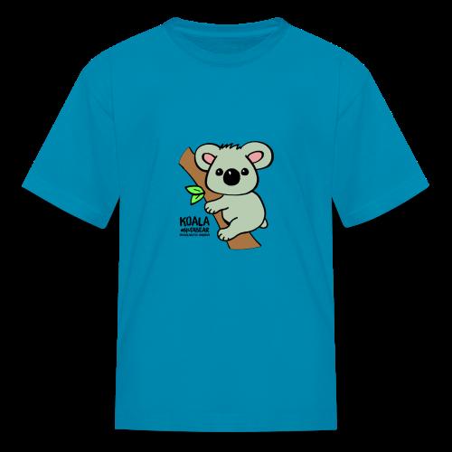 Koala Cute. Art by Paul Bass, assisted by Mollie. - Kids' T-Shirt