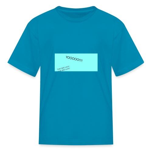 YOOOO - Kids' T-Shirt