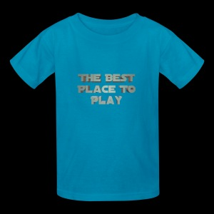 The Best Place To play - Kids' T-Shirt