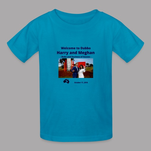 Prince Harry and Meghan Visit Dubbo - 17/10/2018 - Kids' T-Shirt