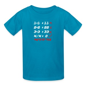 POOR MATH CALCULATION - Kids' T-Shirt