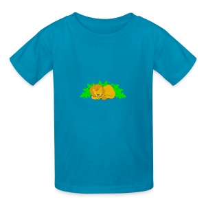 Sleeping Lion - Kids' T-Shirt