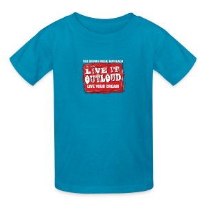 Live It OutLoud Logo - Kids' T-Shirt