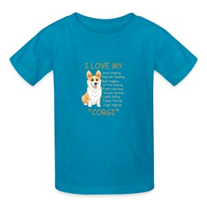 I Love My Corgi - Kids' T-Shirt