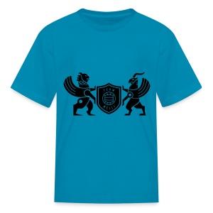 Iran lion & griffin - Kids' T-Shirt