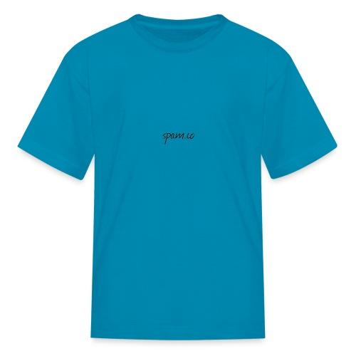 spam.co logo - Kids' T-Shirt